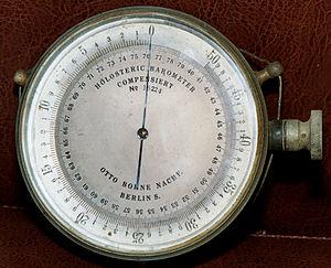 Barometer - Old aneroid barometer