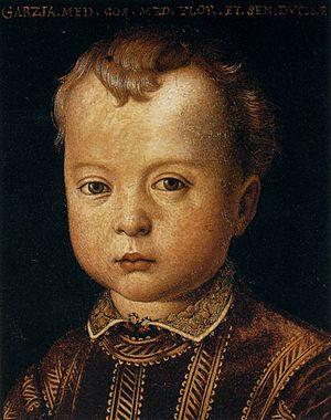 Garzia de' Medici - Garzia by Bronzino