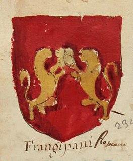 Frangipani family noble family