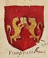 Angelo Maria da Bologna, Araldo nel quale si vedono delineate e colorite le armi de' potentati e sovrani d'Europa, page 100.jpg