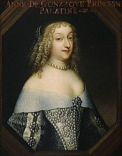 Anne Gonzaga Italian French noblewoman and salonist