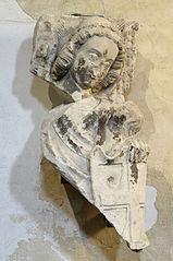 Saint Michel recueillant l'âme d'un élu