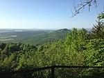 Ansicht von dem Großen Gleichberg, Landkreis Hildburghausen, Thüringen 02.jpg