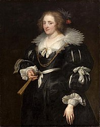 Anthony van Dyck: Portrait of Amalia of Solms-Braunfels