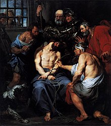 Anthony van Dyck - Crowning with Thorns - WGA07433.jpg