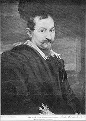 Lost portrait of Jan Wildens