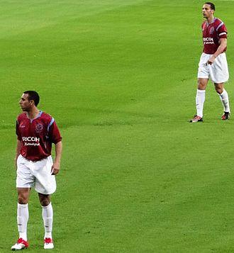 Anton Ferdinand - Anton with brother Rio in a West Ham testimonial match