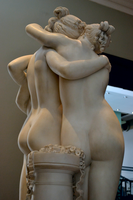 Antonio Canova (1757-1822) - The Three Graces, Woburn Abbey version (1814-1817) left thighs upward, Victoria and Albert Museum, April 2013 (11059657873).png