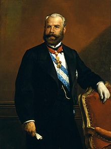 Antonio de los Ríos Rosas, diputado liberal moderado que defendió la ilegalización de la Internacional.