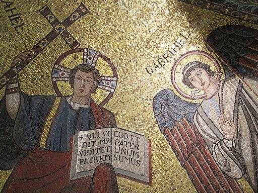 Apsismosaik Museum Byzantinische Kunst 004