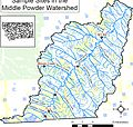 Aquatic surveys and assessment within the Middle Powder River watershed (2006) (16484668320).jpg