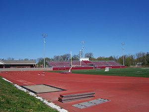 Aquinas Institute - Image: Aquinas Institute track