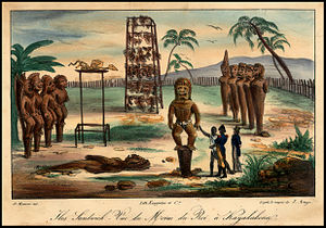 History of Hawaii - Kailua-Kona, Island of Hawaii