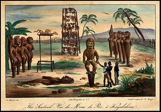 Hawaiian religion - Kailua-Kona, Island of Hawaii