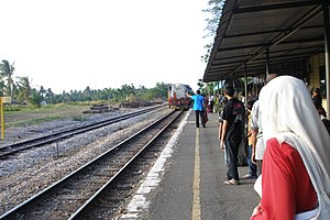 Arau railway station - Image: Arau Train Station Perlis