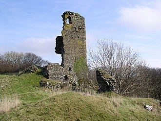 Scheduled monuments in South Ayrshire - Image: Ardstinchar Castle, Ballantrae geograph.org.uk 692808