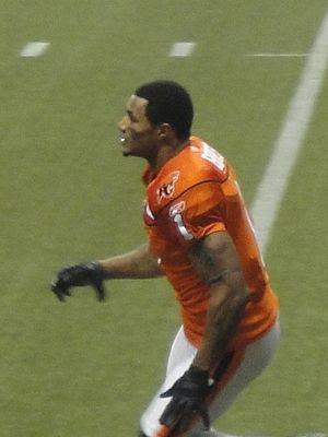 Arland Bruce III - Aralnd Bruce III at the 99th Grey Cup