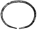Armband, Armring af guld, sprialräfflad, Nordisk familjebok.png