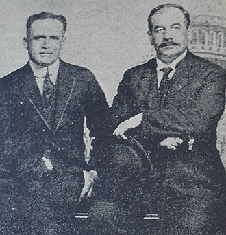 Armen Garo - Ambassador Armen Garo with the United States ambassador