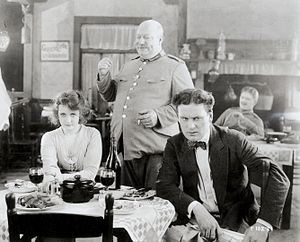Arms and the Girl (film) - Film still with Burke and Meighan