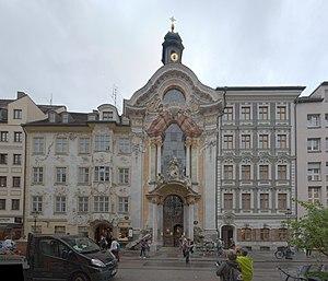 Münchensehenswürdigkeiten Reiseführer Auf Wikivoyage