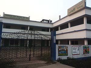 Sarangabad High School - Newly constructed Ashok Mukherjee Bhaban of Sarangabad High School, Budge Budge