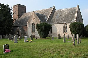 English: Ashperton Church. Ashperton church is...
