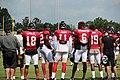Atlanta Falcons wide receivers at training camp, July 2016.jpg