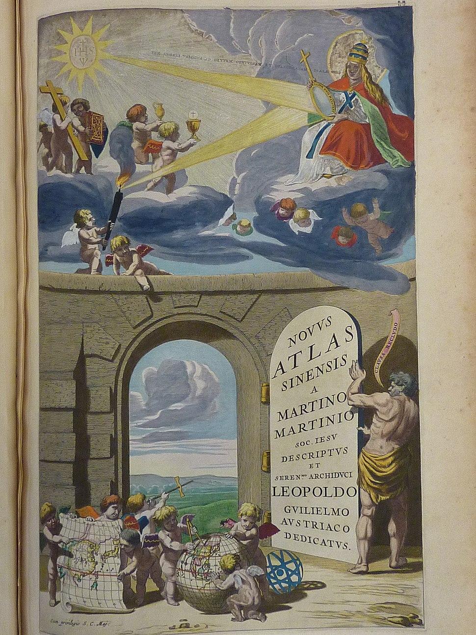 Atlas maior 1655 - vol 10 - Novus Atlas Sinensis - cover - P1080377