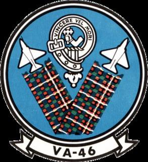 VA-46 (U.S. Navy) 1955-1991 United States Navy aviation squadron