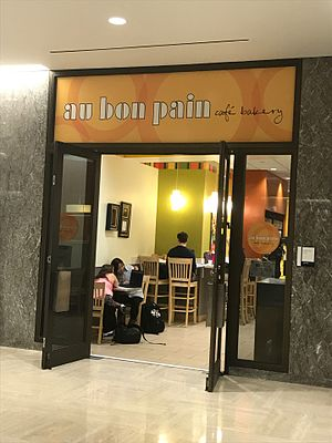 Au Bon Pain - Au Bon Pain in the Hesburgh Library at the University of Notre Dame.