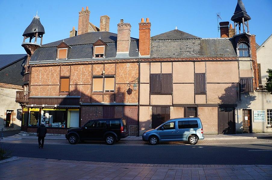Maison Bourdoiseau Aubigny-sur-Nère|  Cher (département), France