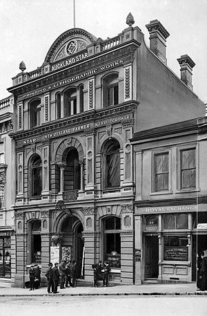 Auckland Star - Image: Auckland Star Newspaper Building