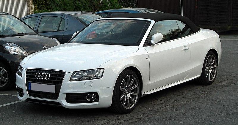 Fil:Audi A5 Cabriolet 1.8 TFSI S-line – Frontansicht, 15. April 2011 ...