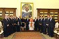 Audiencia privada con Su Santidad, el papa Benedicto XVI (5494392858).jpg