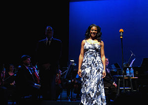Audra McDonald - Audra McDonald performing at the Wright Center in 2011