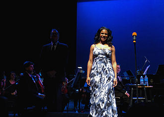 Audra McDonald - McDonald performing at the Wright Center in 2011
