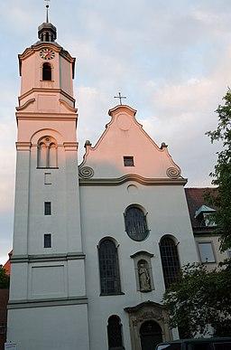 Stephansplatz in Augsburg
