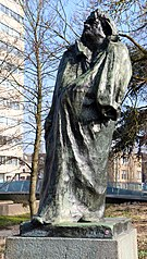 Standbeeld Honore Balzac