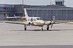 Ausjet Aviation Group (VH-ZMJ) Piper PA-31-325 Navajo CR taxiing at Wagga Wagga Airport.jpg