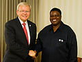 Australian Foreign Minister Kevin Rudd with Foreign Minister Utoni Nujoma of Namibia.jpg