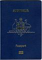 Australian Passport Cover of P - Series.jpg