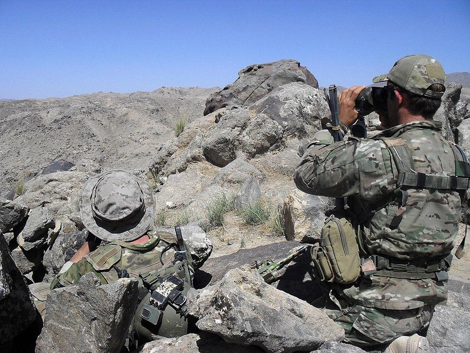 Australian SOTG sniper team June 2010