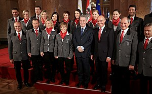 Austria at the 2014 Winter Olympics - The Austrian women's alpine skiing team