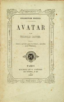 Avatar Theophile Gautier Pdf