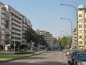 Woluwe-Saint-Lambert - Image: Avenue de Broqueville