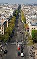 Avenue de Wagram depuis Arc de Triomphe Etoile Paris.jpg