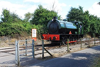 Avon Valley Railway - Image: Avon Riverside Austerity 0 6 0ST WD132 Stop, look and listen