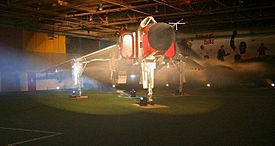 Avro Arrow replica at Canadian Air and Space Museum.jpg