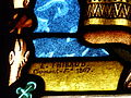 Aydat église vitrail signature (2).JPG